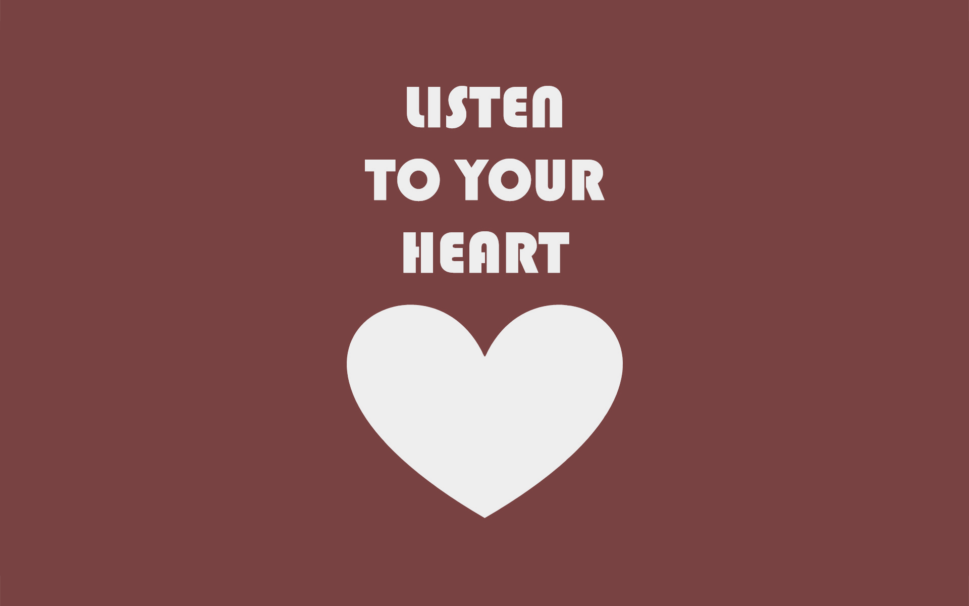 Five Reasons Why You Should Listen to Your Heart